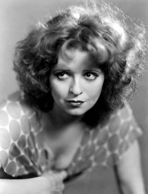 photo-movie-star-clara-bow-sheer-dot-dress-hair-backlighted