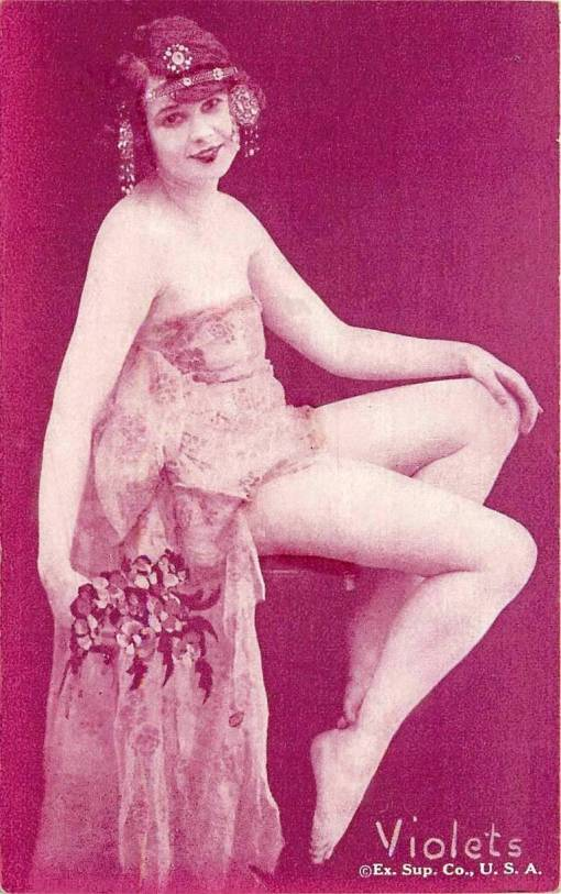 arcade-card-exhibit-supply-company-pin-up-floral-series-violets-1920s