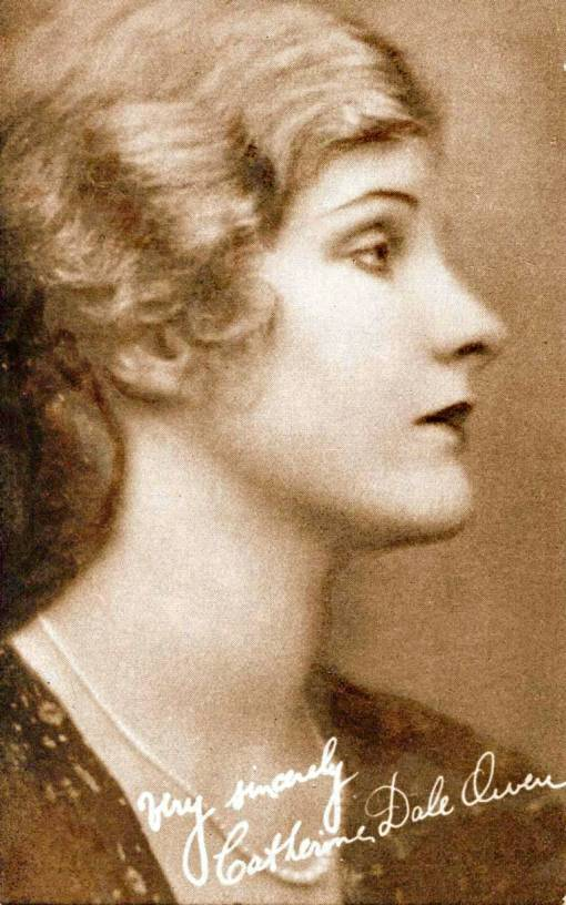arcade-card-movie-star-catherine-dale-owen-profile-looking-up-with-bobbed-hair-and-pearls