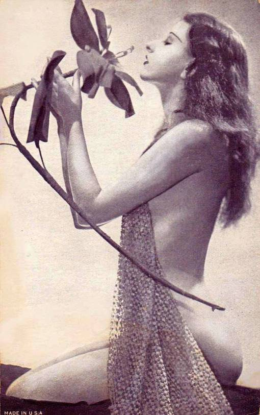 arcade-card-likely-exhibit-supply-company-renior-like-woman-kneeling-profile-with-artificial-flowers-a-later-homage-to-1920s-work