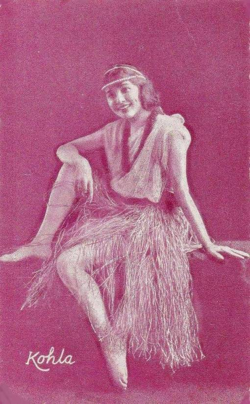 a-arcade-card-unknown-publisher-style-resembles-exhibit-supply-dancer-kohla-in-hula-skirt-1920s
